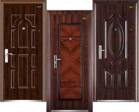 Китайские входные металлические двери
