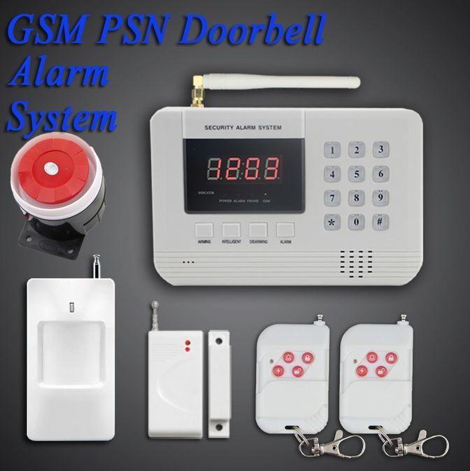Охранная система-GSM сигнализация SAS-105.Акция
