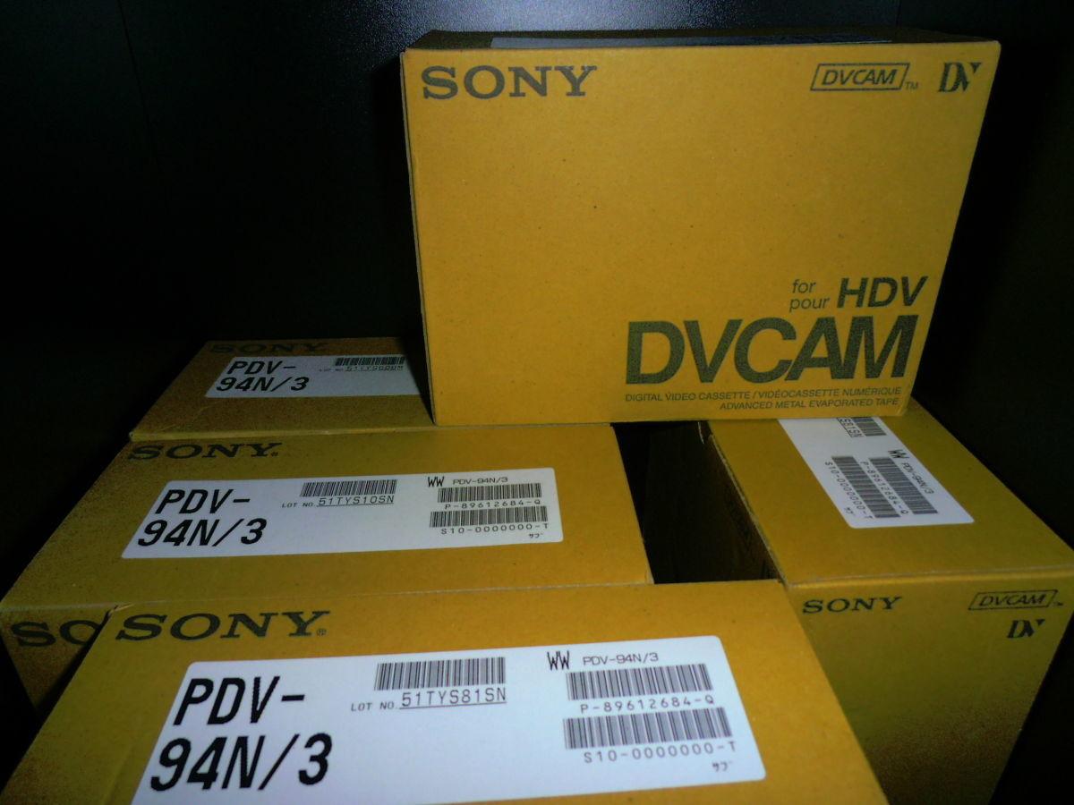 Новые кассеты DVCAM for HDV Sony PDV-94N есть более 300 штук