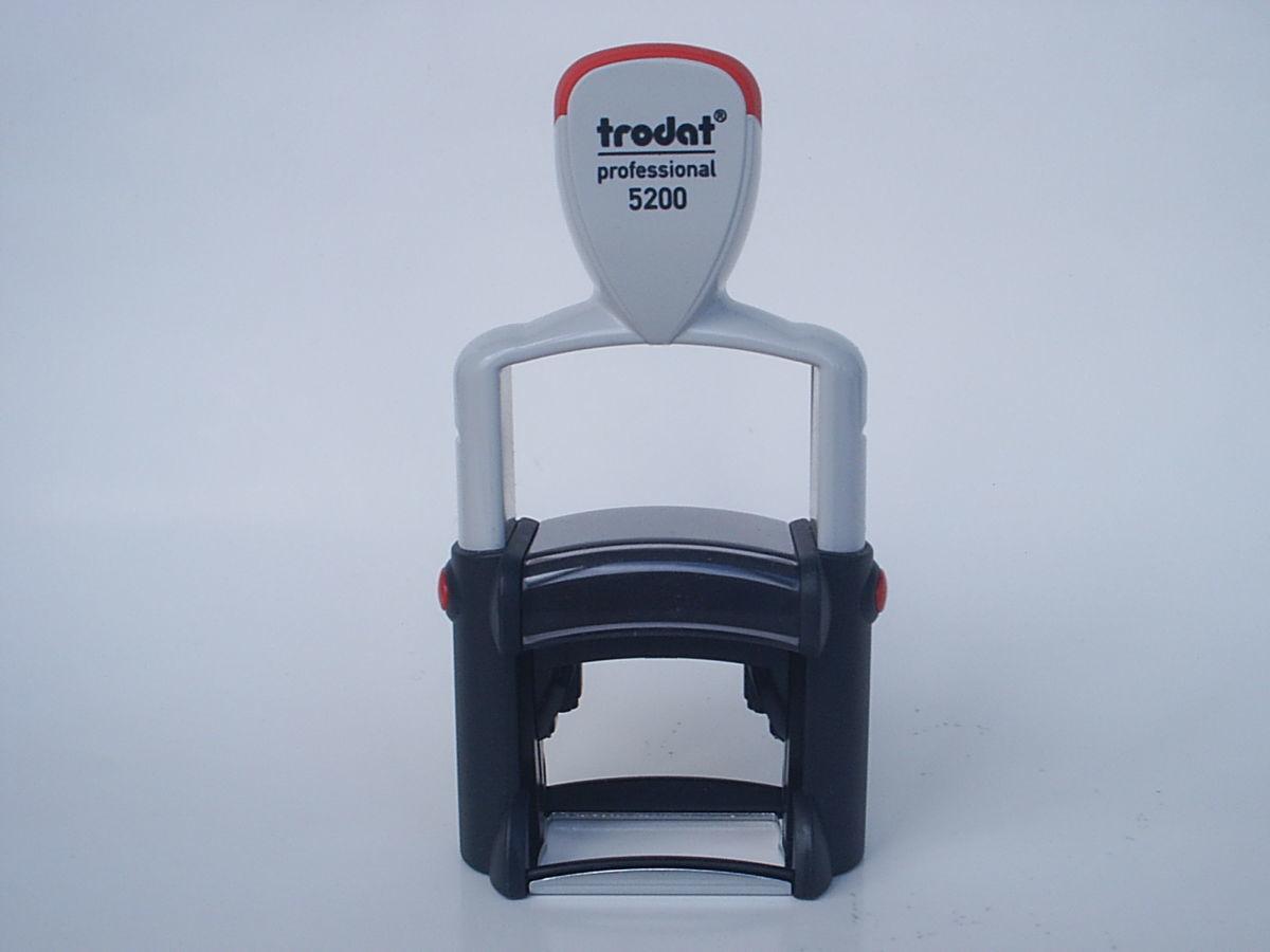 Штамп Trodat Professional Line 5200, размер поля 24 х 41 мм