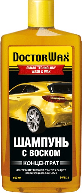 Автошампунь DoctorWax 8133