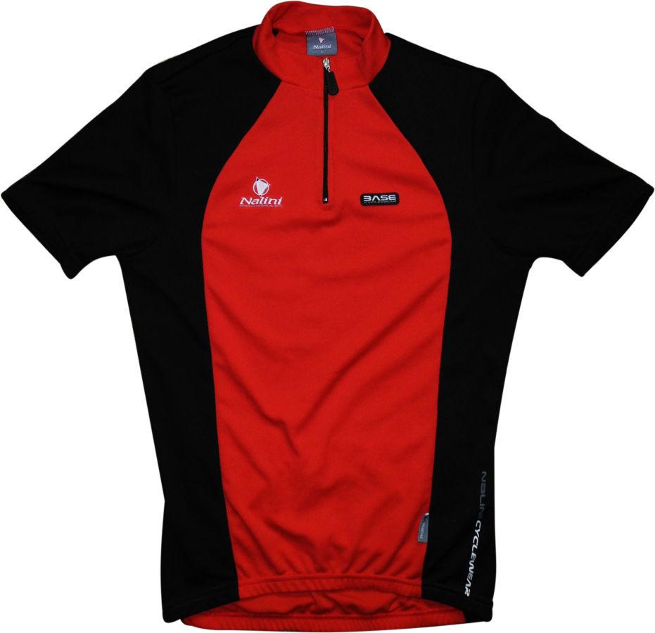 Велосипедка красная черная с карманами отражателем Италия Nalini