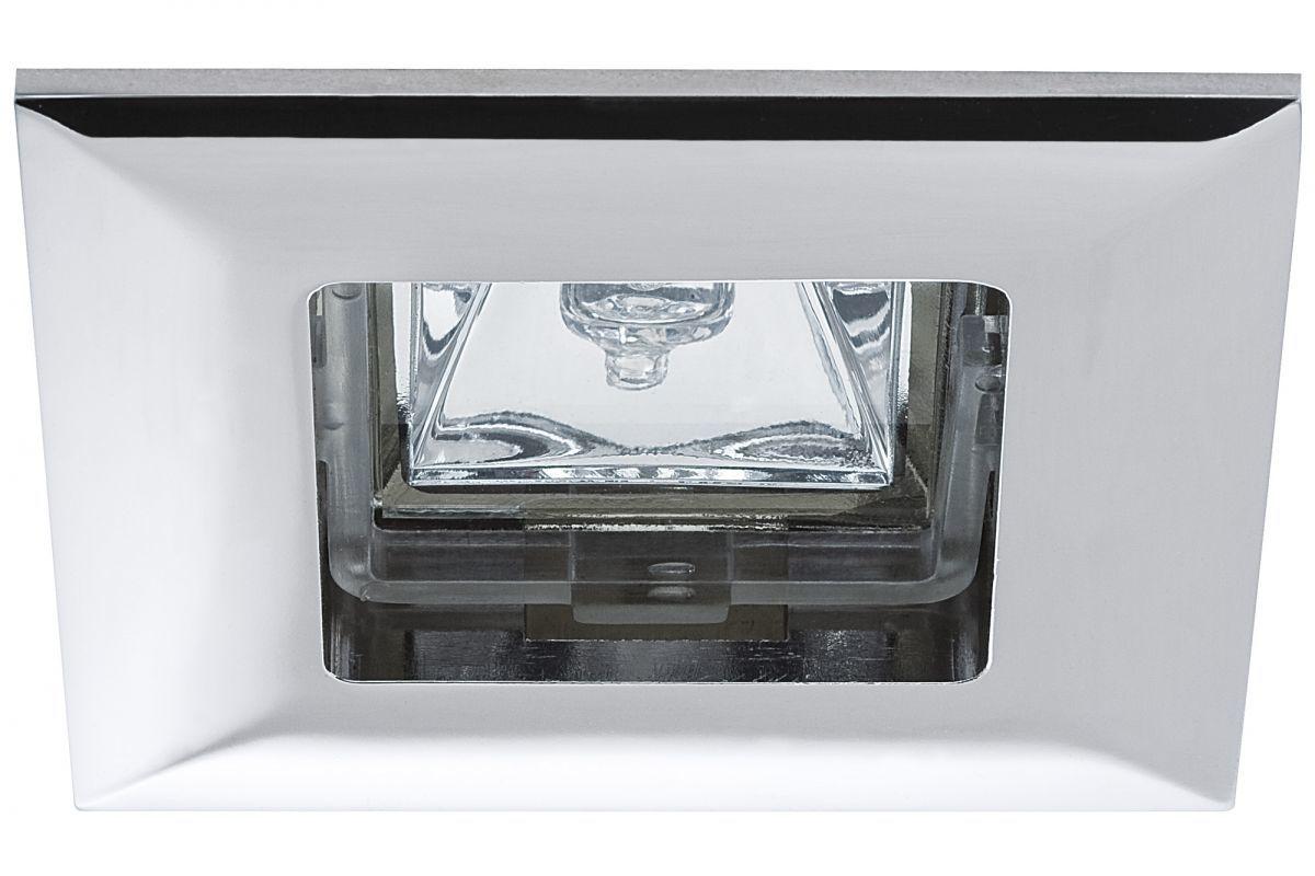 Фото - Набор встроенных светильников Paulmann, на 6 точек,квадратные, металл
