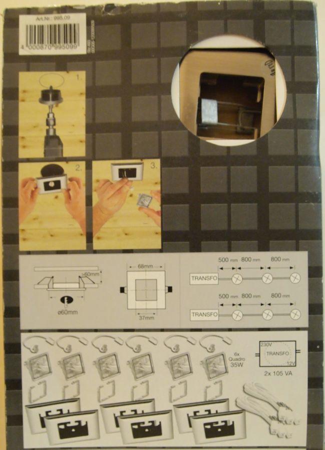Фото 4 - Продам набор встроенных светильников Paulmann, на 6 точек