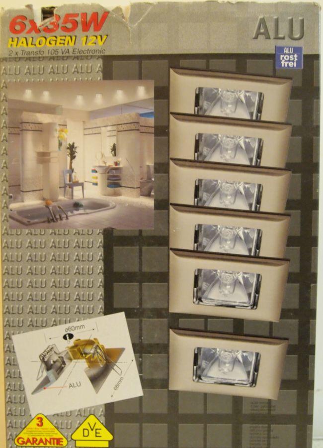 Фото 2 - Продам набор встроенных светильников Paulmann, на 6 точек