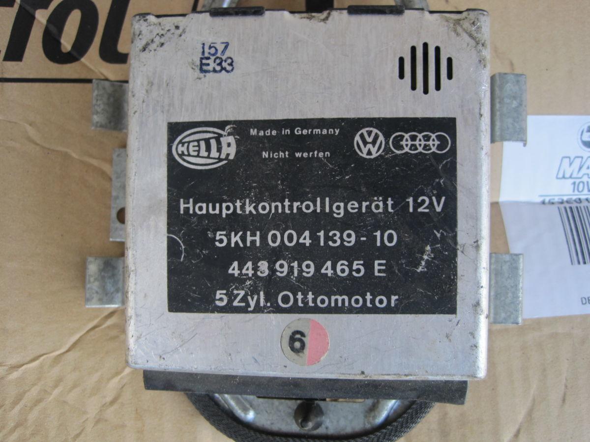 Фото - 443919465E Блок управления  AUDI 200 C3 2.2 Turbo MC