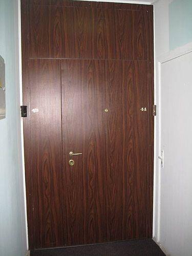тамбурная входная дверь с установкой недорого для подъезда