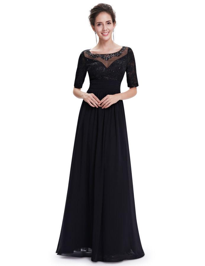 c5f188e76d5 Чёрные вечерние платья большого размера купить с примеркой ...