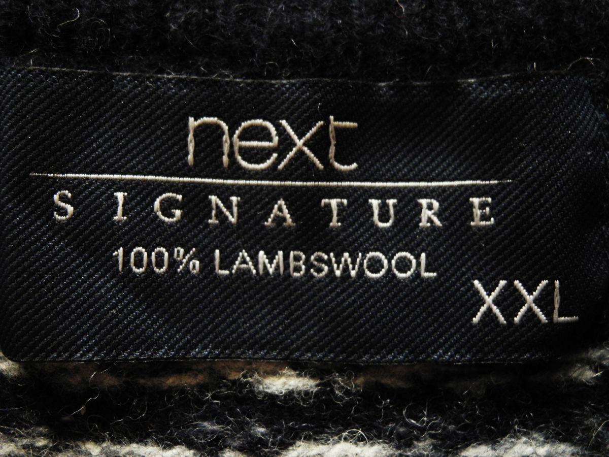 Фото 5 - Свитер кофта теплый 100% овечья шерсть Next XXL