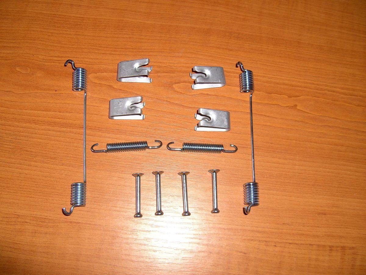 Фото 3 - Ремкомплект (пружинки) задних барабанных колодок Ford connect