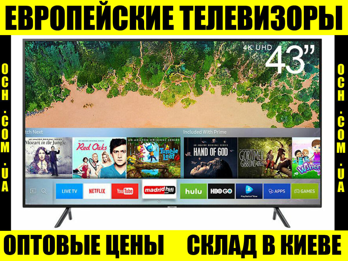 Телевизор LED Samsung UE43nu7092 wi-fi smart TV Европейский