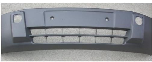 Фото 2 - Бампер передний з/без п/т фар Ford Connect 2002-2006
