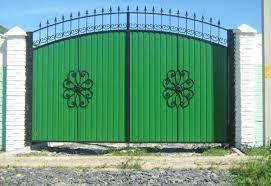 Фото - Качественные ворота из профнастила