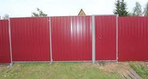 Фото 8 - Качественные ворота из профнастила