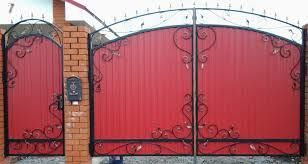 Фото 3 - Качественные ворота из профнастила