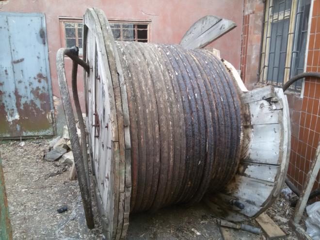 Продам кабель ААБЛ 3*120 мм 10 кВ. На барабане 315 метров.