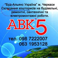 Сметчик (кошторисник). Составление смет г. Черкасс Буд-Альянс Украина