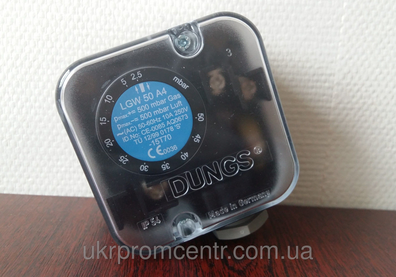 Датчик-реле давления газа,воздуха DUNGS LGW A4