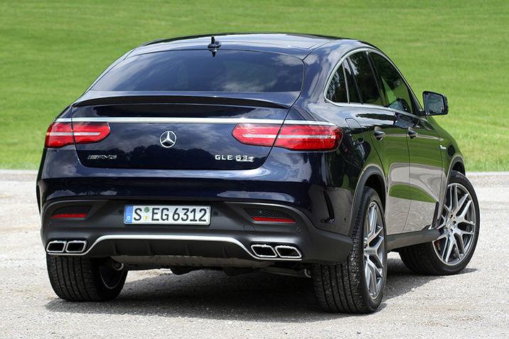 Фото 3 - Спойлер AMG оригинал для Mercedes GLE-coupe A2927900000