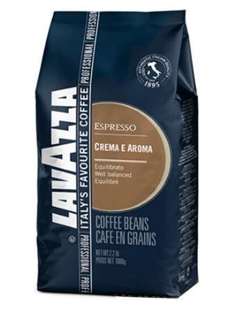 Кофе Lavazza Crema e Aroma Espresso Blue 1 кг зерно (Италия)
