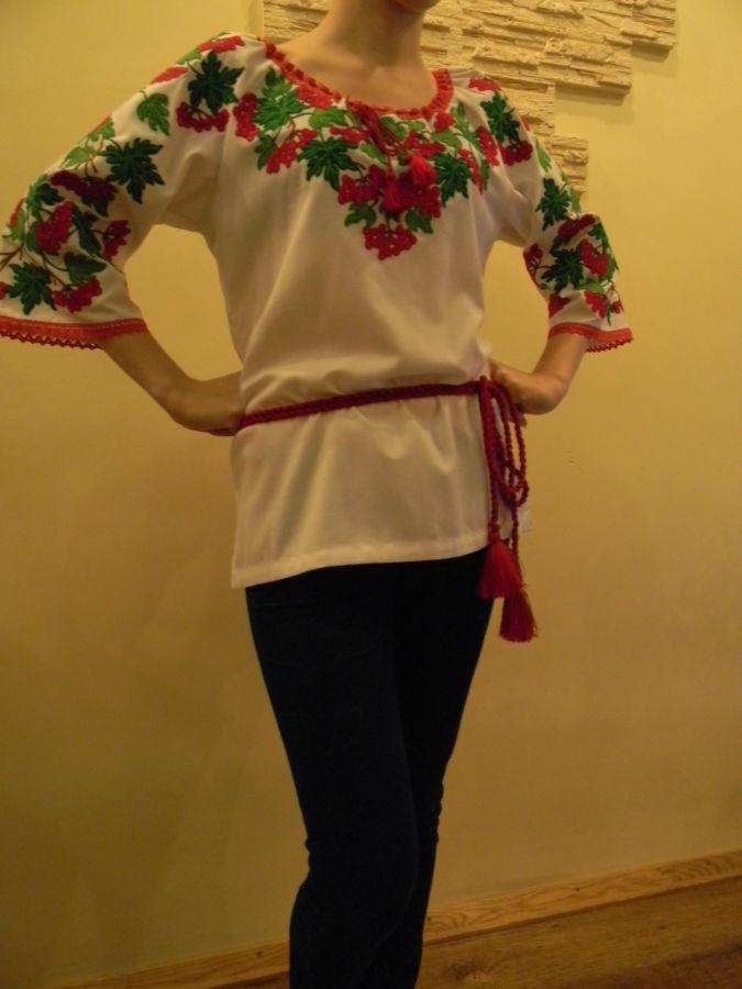 Блуза калина (вишиванка)  1 750 грн. - Блузки 3c0baed23f538