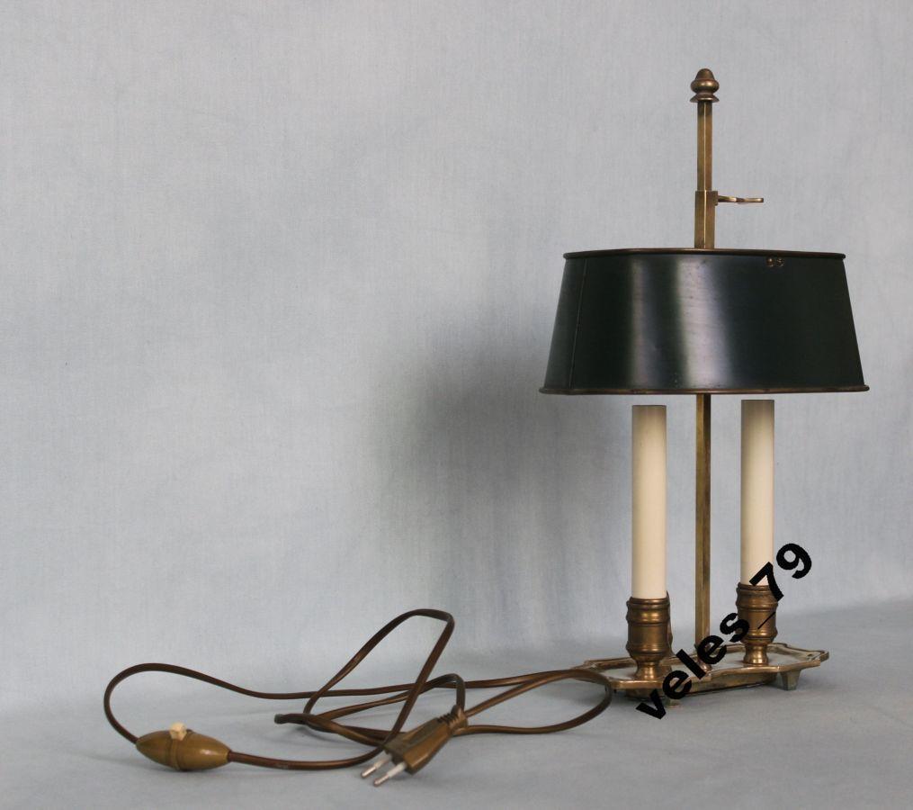 Фото 3 - Лампа кабинетная, бронза, Франция 1920-е годы
