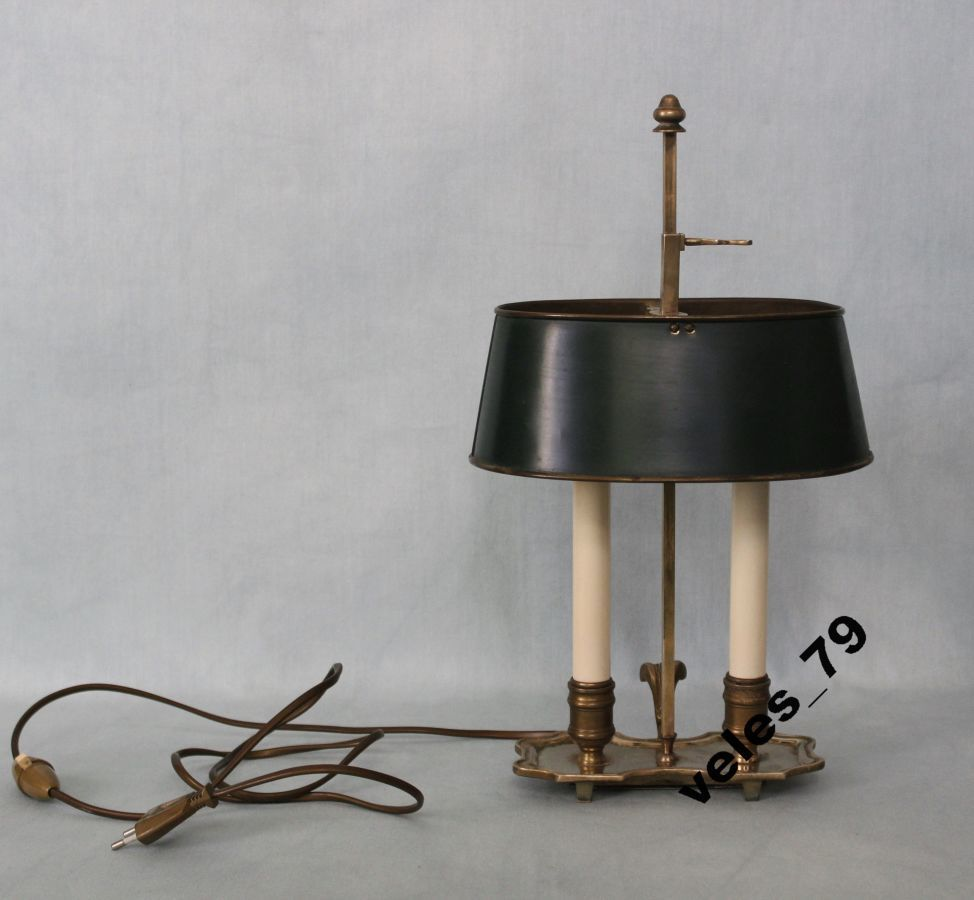 Фото - Лампа кабинетная, бронза, Франция 1920-е годы