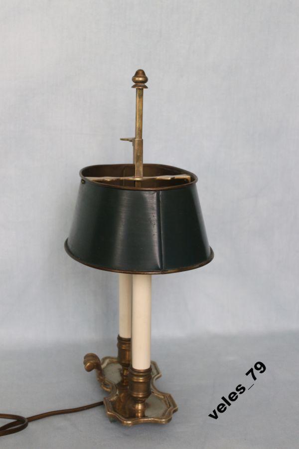 Фото 6 - Лампа кабинетная, бронза, Франция 1920-е годы