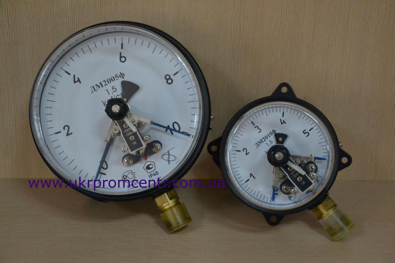 Манометры электроконтактные ДМ2005ф, ДМ2010ф