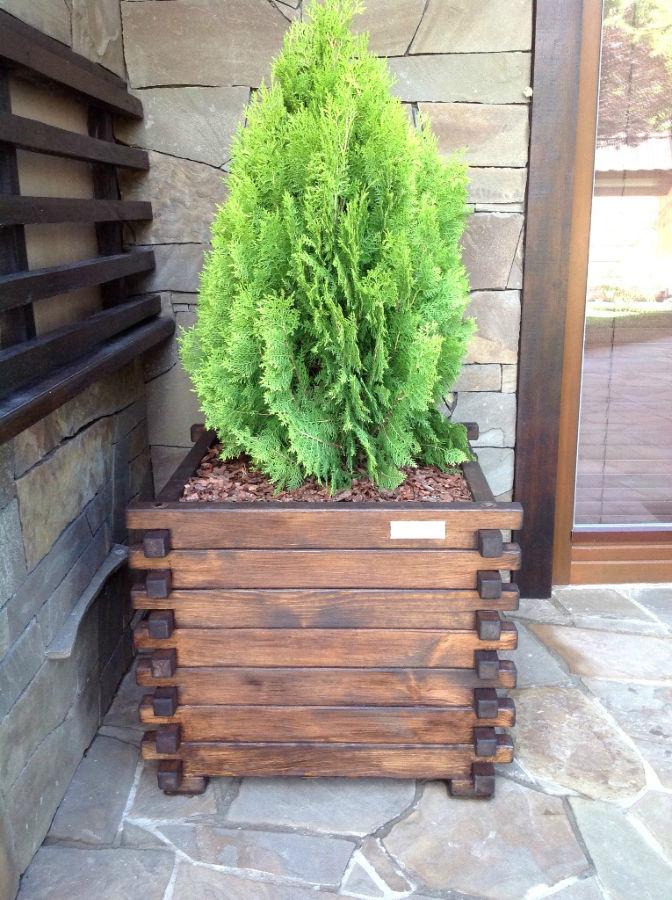 фото цветов деревянный для ящик