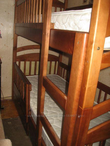 Фото 3 - Двухъярусна кровать Карина Люкс -комплет !
