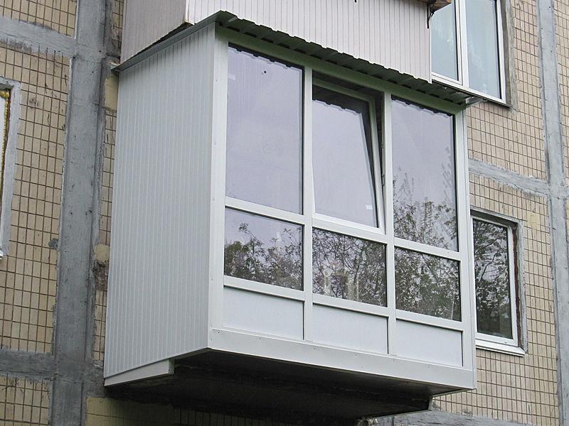 Окна. балконы.обшивка вагонкою .: 260 грн. - балконы киев - .