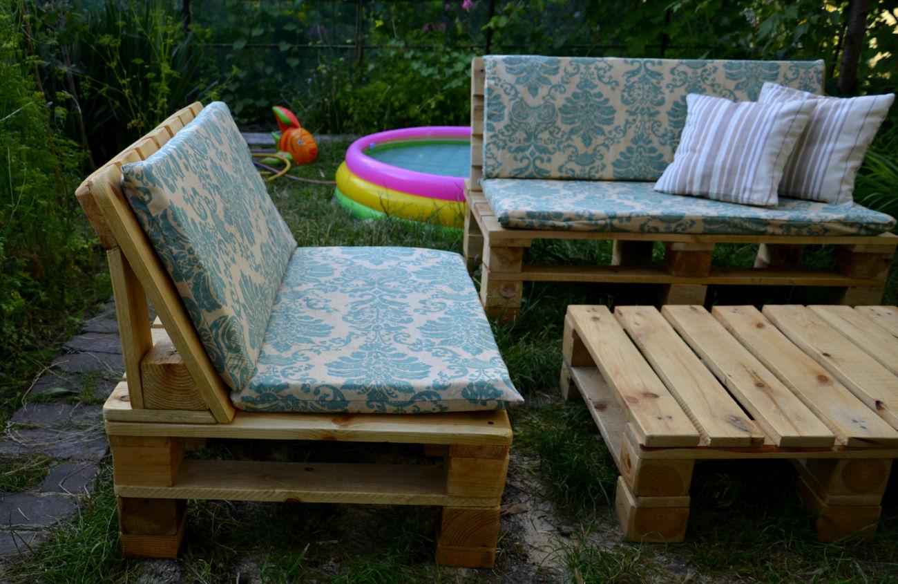 Садовая мебель из паллет своими руками видеоурок7
