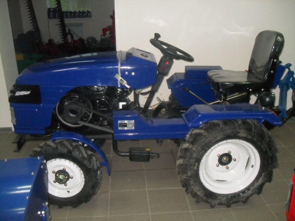 Фото - Мото-трактор Булат 120 плуг,фреза и гидравлика