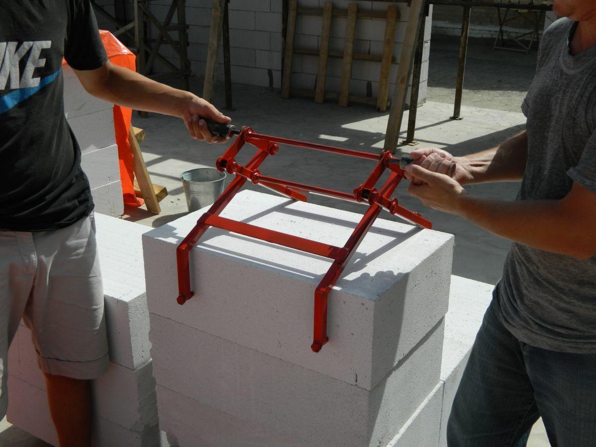 Как сделать газосиликатных блоков 114