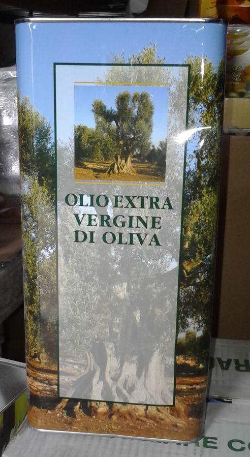 Оливковое масло  Olio Extra Vergine Colline di Romagna  5 л. (ж/б)