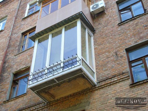 Французский балкон по доступной цене