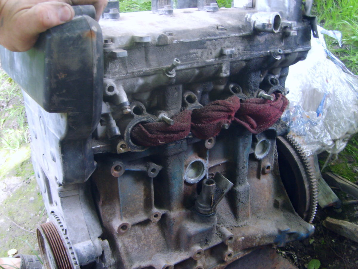Фото 9 - головка двигуна ваз 2108\09\10\\11\12