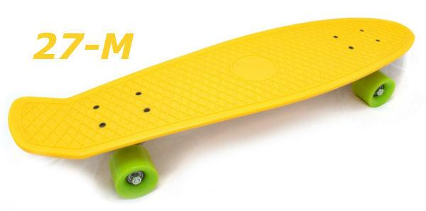 Фото 10 - Скейт 27-M penny skate board cruiser fish пенни лонгборд