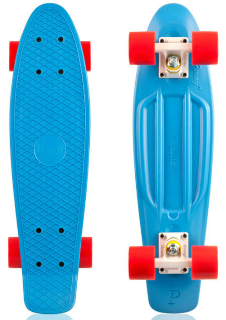 Фото 5 - Скейт 27-M penny skate board cruiser fish пенни лонгборд