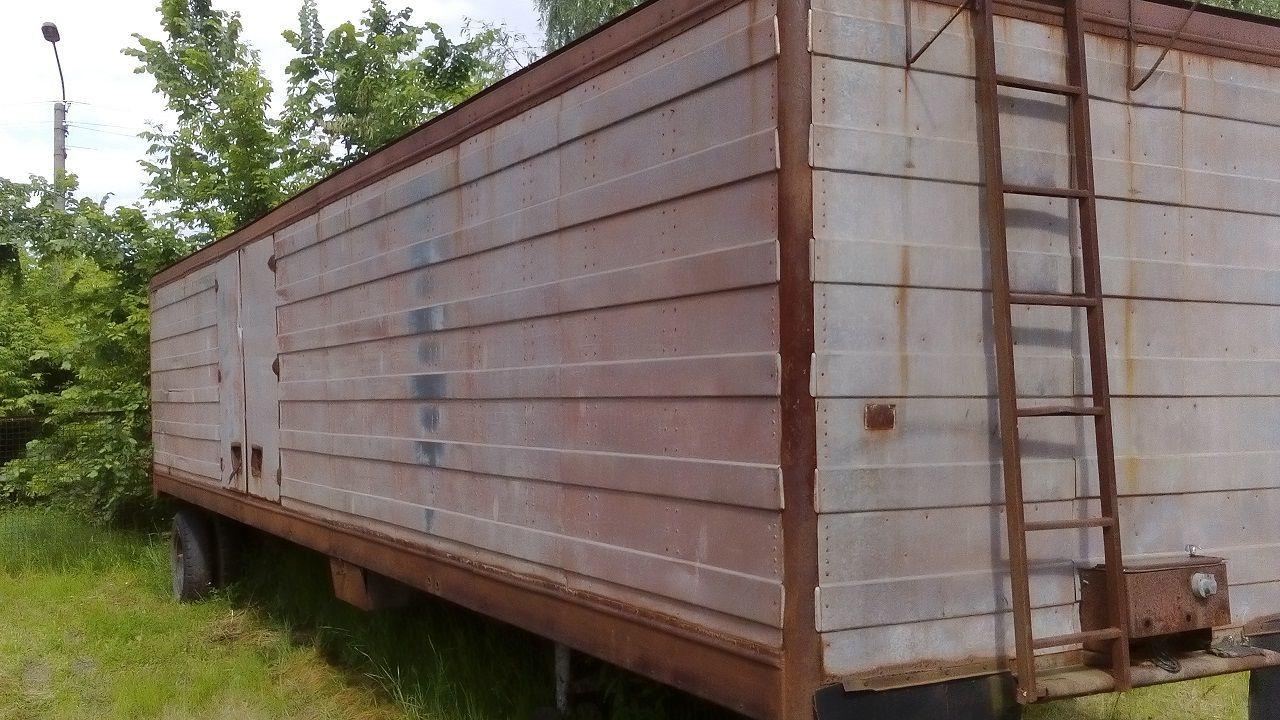 Фото - прицеп грузовой высокий