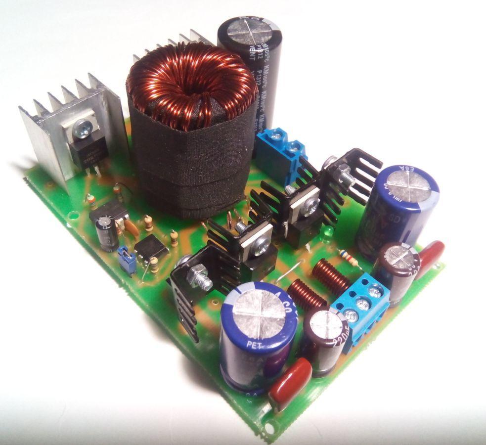 Простейший усилитель звука 12 вольт