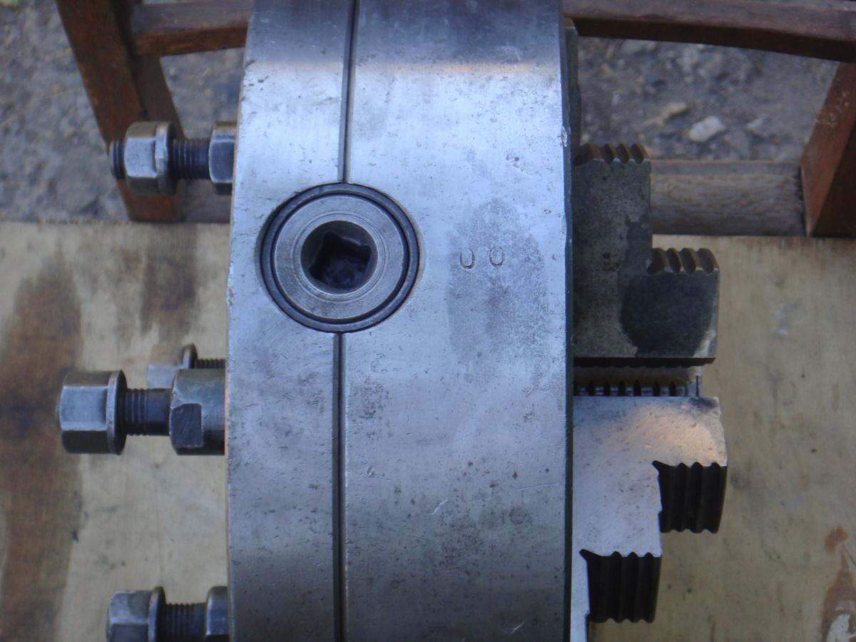 Фото 2 - Патрон токарный БелТАПАЗ самоцентр. трехкулачковый С 7100-00041В.