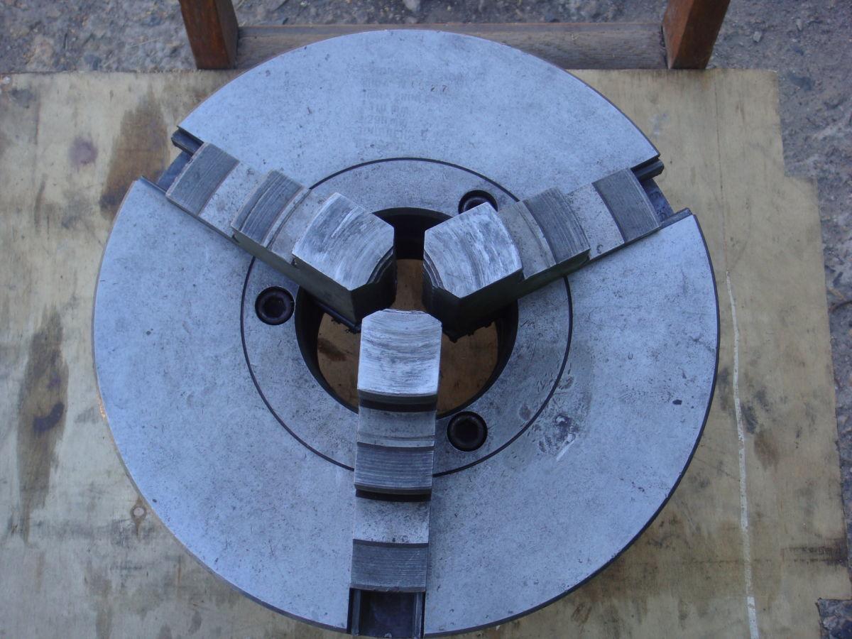 Фото - Патрон токарный БелТАПАЗ самоцентр. трехкулачковый С 7100-00041В.