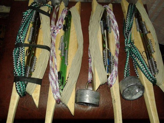 Резинка закидушка по народному донка (сделана своими руками ...
