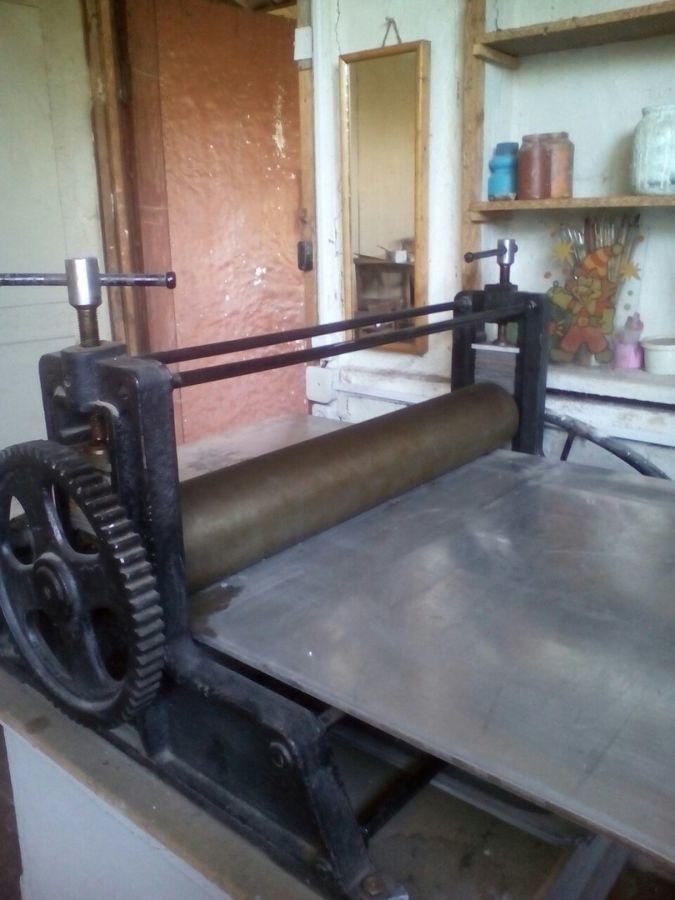 Печатный станок своими руками 1176