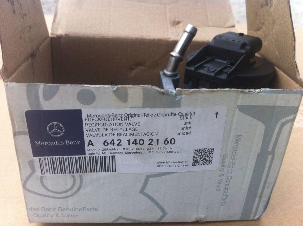 Фото 3 - Клапан рециркуляции ОГ для авто Mercedes
