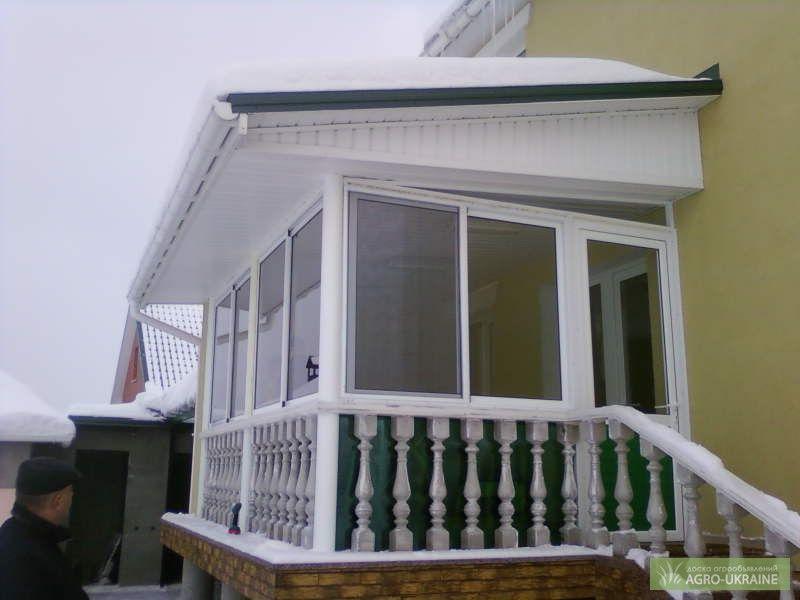 Раздвижные окна для балконов, веранд, беседок.: 2 800 грн. -.