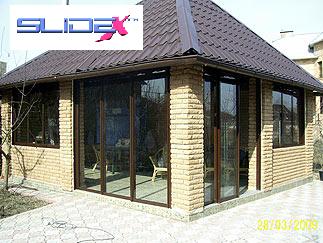 Фото - Раздвижные окна для балконов, веранд, беседок.