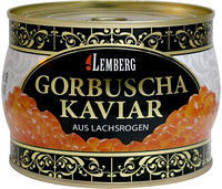 Фото - Красная лососевая икра горбуши ТМ Lemberg  - 500 гр.